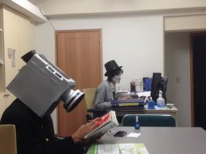 生徒と武田先生